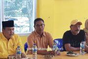 Kedatangan WIP Balon Bupati Tanah Datar di Sambut Baik Ketua Penjaringan Partai Golkar