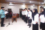12 Pejabat Pengawas di Lantik, Wako Fadly Butuhkan Akselerasi