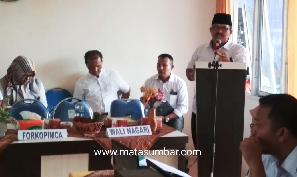 Indra Gunalan Minta Maaf Atas Keterlambatan Pelaksanaan Musrenbang