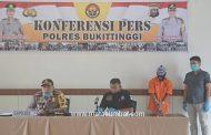 Pelaku Penganiayaan Karyawan Rumah Makan Bukit Gulai Bancah Berhasil di Ringkus Polres Bukittinggi