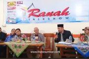 Diskusi Publik, DPRD Dukung Wacana Pemekaran Kabupaten Agam Menjadi Kabupaten Agam Tuo