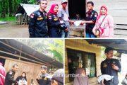 Melalui Ormas Pekat IB, Ainul Qadri Perantau Lombok Sumbangkan Sembako Untuk Masyarakat Ampek Nagari
