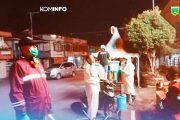 Terima Bantuan Dari Anggota DPRD Sumbar, Satgas Kelurahan Paus Langsung Eksen
