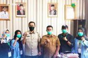 Usai Kukerta, Empat Mahasiswa UNRI Jadi Relawan Covid-19 di Padang Panjang