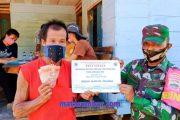 Penyerahan BLT-DD Tahap III Untuk Dusun Mabolak di Dampingi Babinsa Sikakap