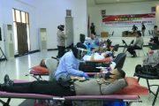Peringati Hari Bhayangkara ke 74, Polda Sumbar Adakan Donor Darah