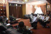 Ikuti Seleksi Pusat, Calon Perwira TNI Dapat Pengarahan dari Danlantamal II Padang