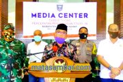 Balik Dari Padang, Petugas Lapas Terbuka Kelas II Pasbar Terkonfirmasi Positif Covid-19