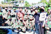 Antisipasi DBD, Masyarakat Ophir Bersama TNI-Polri Lakukan Goro