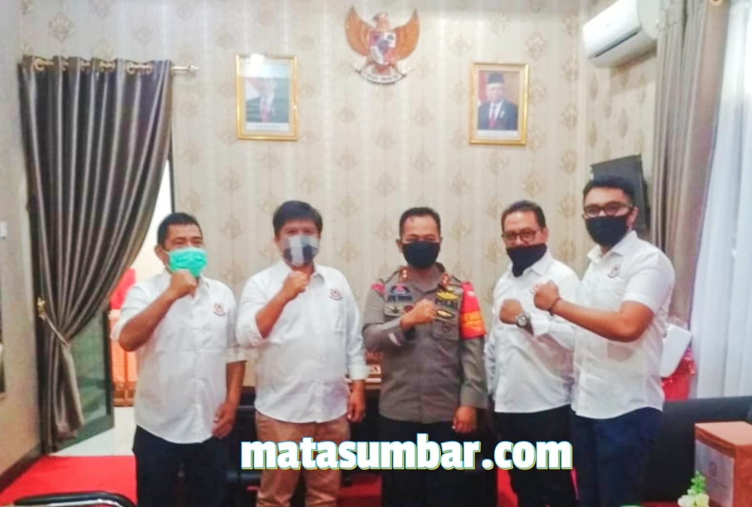 Temu Ramah, AKBP Apri Wibowo Apresiasi KONI Padang Panjang
