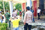 Sosialisasi New Normal, Koramil 04/Sikakap Dampingi Tim Gugus Tugas Kabupaten