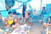 Babinsa Sikakap Bangun Komsos di Pelosok Desa Sinakak