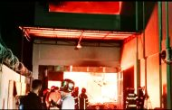 Breaking News, Toko Bangunan Hapdi di Kawasan Banda Olo Dilalap Sijago Merah
