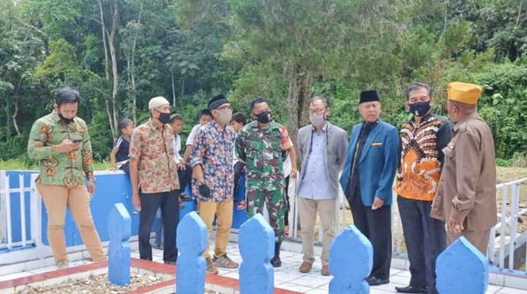 Silahturahmi Tim TP2GP, Wako Fadly Harapkan Pengusulan Chatib Sulaiman Jadi Pahlawan Nasional