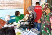 Dukung Posyandu Kesehatan Ibu Hamil, Babinsa Sikakap Dampingi Timkes