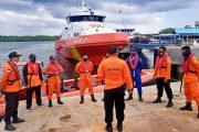 Kapal Dagang Terbalik di Muara Simatalu, Tim SAR Gabungan Lakukan Pencarian