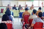Berperan Aktif, Babinramil 04/Sikakap Ikuti Musrenbang Tingkat Desa di Matobe'