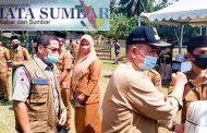 Cegah Penyebaran Corona, BPBD Sumbar Sosialisasi Serta Distribusikan Bantuan