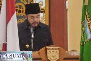 Target APBD Padang Panjang Tahun 2021 Turun 10,38 Persen