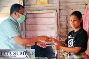 Warga Kurang Mampu Penderita Kanker Ganas Stadium III di Kunjungi Pimpinan Klinik Puti