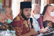 Silahturahmi Komunitas Anti Korupsi, Wako Fadly : Rumah Aspirasi Adalah Sebuah Gerakan Yang Perlu di Buktikan