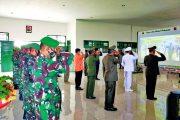 Dirgahayu Ke-75 TNI, Kodim 0319/Mentawai Gelar Upacara Secara Virtual