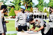 Kapolres Pasbar Pimpin Sertijab Kasat Reskrim dan Kasat Binmas