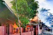 Kebakaran di Simpang Haru Haguskan Rumah Permanen, 4 Petak Kontrakan dan 1 Unit Kendaraan