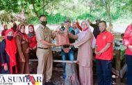 Selaraskan Program Kerja, LPM Kecamatan dan Kelurahan Padang Panjang Barat Studi Komparatif Ke Nagari Tageh Rumah Gadang Batu Taba