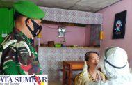 Swab Test Bagi Pelaku Usaha, Satgas Covid-19 Didampingi Personel Kodim 0319/Mentawai