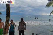 Antisipasi Penyebaran Covid-19, Polsek Sipora Pantau Lokasi Wisata