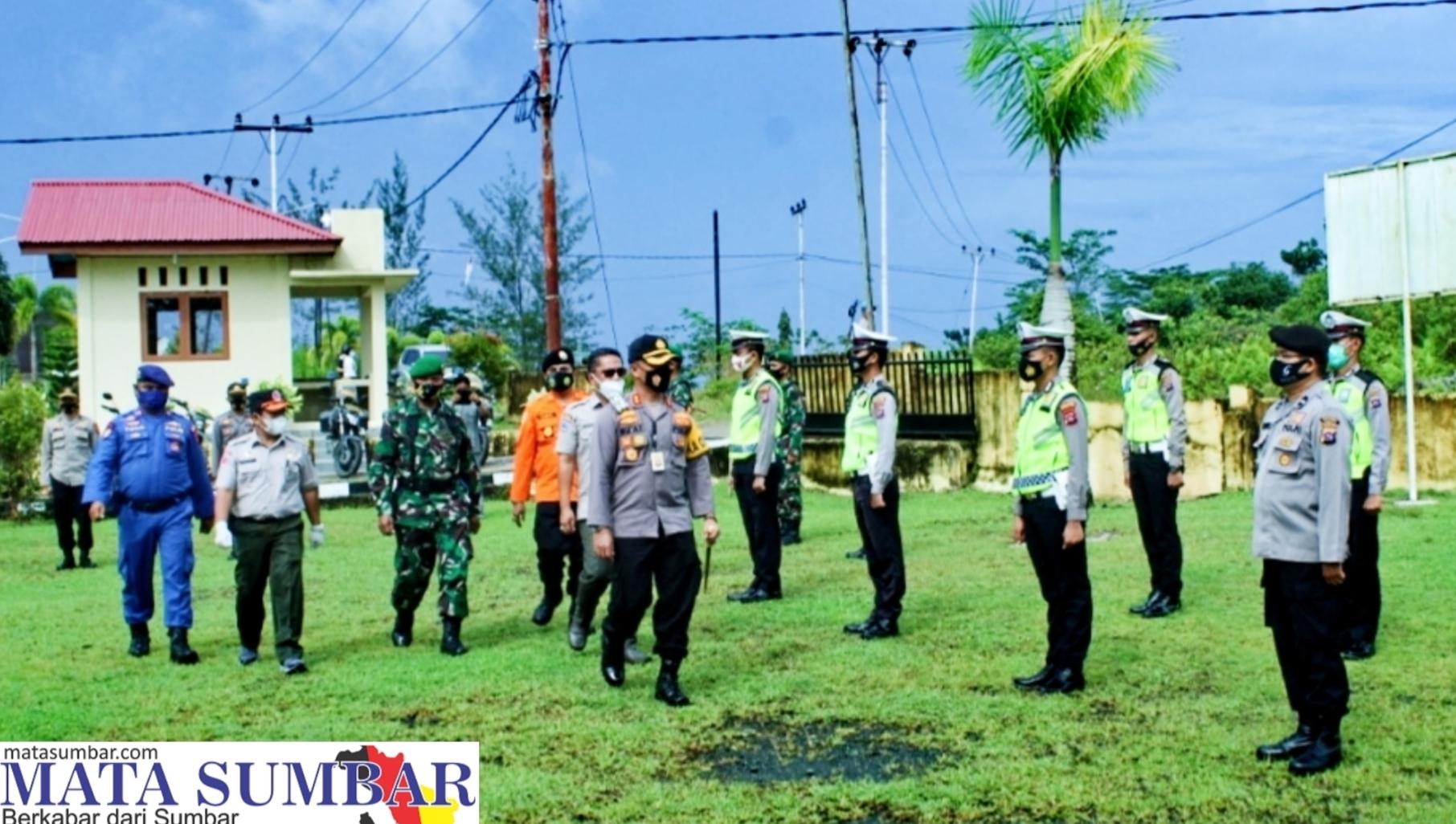 Tingkatkan Kewaspadaan, Polres Mentawai Gelar Apel Kesiapsiagaan Bencana