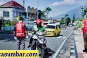 Peringati HKN Ke-56 di Padang Panjang, Kendaraan Melintas Bunyikan Klakson Selama 56 Detik