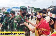 Peninjauan Lokasi TMMD, Kasrem 032/Wbr Kunjungi Mentawai