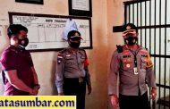 Kunjungan Kapolres Mentawai di Sambut Personel Polsek Sikakap