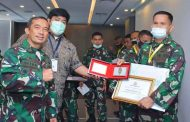 Lomba Fhoto Jurnalistik Tingkat TNI-AD, Penrem 032/Wbr Keluar Sebagai Juara II