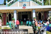 Personel Koramil Lakukan Pengamanan Misa Natal di Gereja Katolik St.Maria Assumpta Sikakap