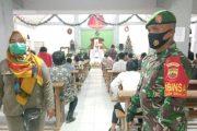 Pengamanan Ibadah Perayaan Malam Tahun Baru, Koramil Sikakap Bersama Tim Gabungan Patroli di Sejumlah Gereja