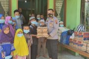 Berkat Kenaikan Pangkat, Rasa Syukur Kabag Sumda Polres Pasbar Berbagi Dengan Anak-Anak Panti Asuhan