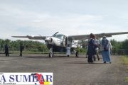 Sebagai Hadiah HUT Kabupaten Pasbar, Bandara Pusako Anak Nagari Mulai Kembali Beroperasi