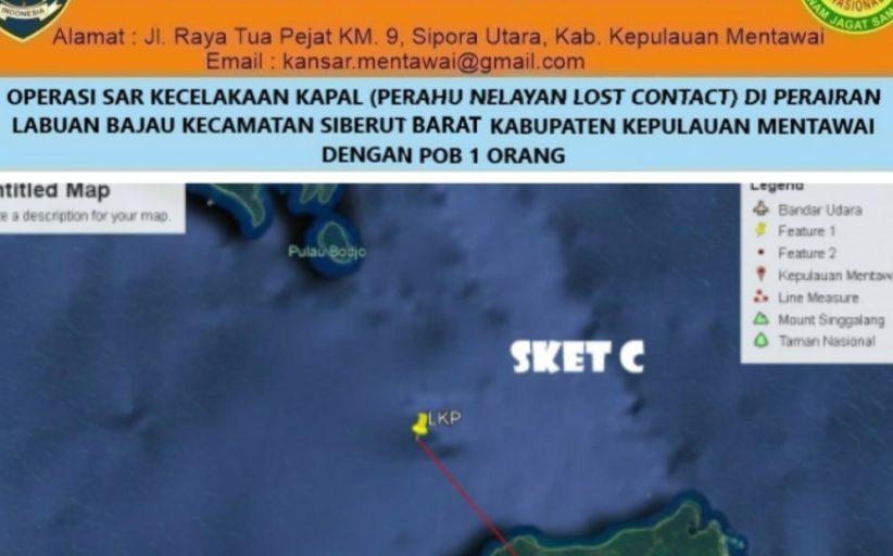 Perahu Nelayan Lost Kontak di Perairan Labuan Bajau Siberut Barat, Akmal : Tim SAR Gabungan Besok Lakukan Pencarian