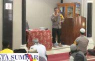 Kapolres Mentawai Edukasi Jamaah Masjid Jabal Nur di Kegiatan Safari Jumat