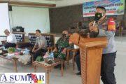 Hadiri Pelatihan Peningkatan Kapasitas, Kapolsek Sipora : Aparatur Desa Matobe Hati-Hati Kelola Dana Desa