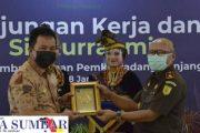 Perdana Kunjungi Padang Panjang, Kajati Sumbar Lakukan Koordinasi dan Sinergitas