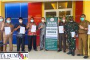 Sepuluh Orang Pejabat Esensial Kabupaten Pasaman Barat Mendapatkan Suntikan Vaksinasi Tahap Dua