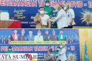 Sejumlah Pejabat Esensial di Pasbar Jalani Vaksinasi Covid-19 Perdana