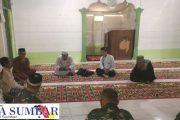 Persiapan Pelaksanaan Rehab Masjid Al-Fajar dan RTLH, Babinranmil 03/Sipora Lakukan Koordinasi