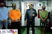 SAR Mentawai Berhasil Evakuasi 3 POB Kapal Nelayan Kandas di Pulau Awera