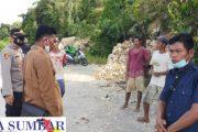 Penambangan Batu Bukit di Goiso'oinan di Hentikan, Kapolsek Sipora Ajak Warga Beralih Aktivitas Minim Risiko