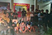 Judi Biliar di Dusun Takuman, 9 Pelaku Diciduk Satreskrim Mentawai